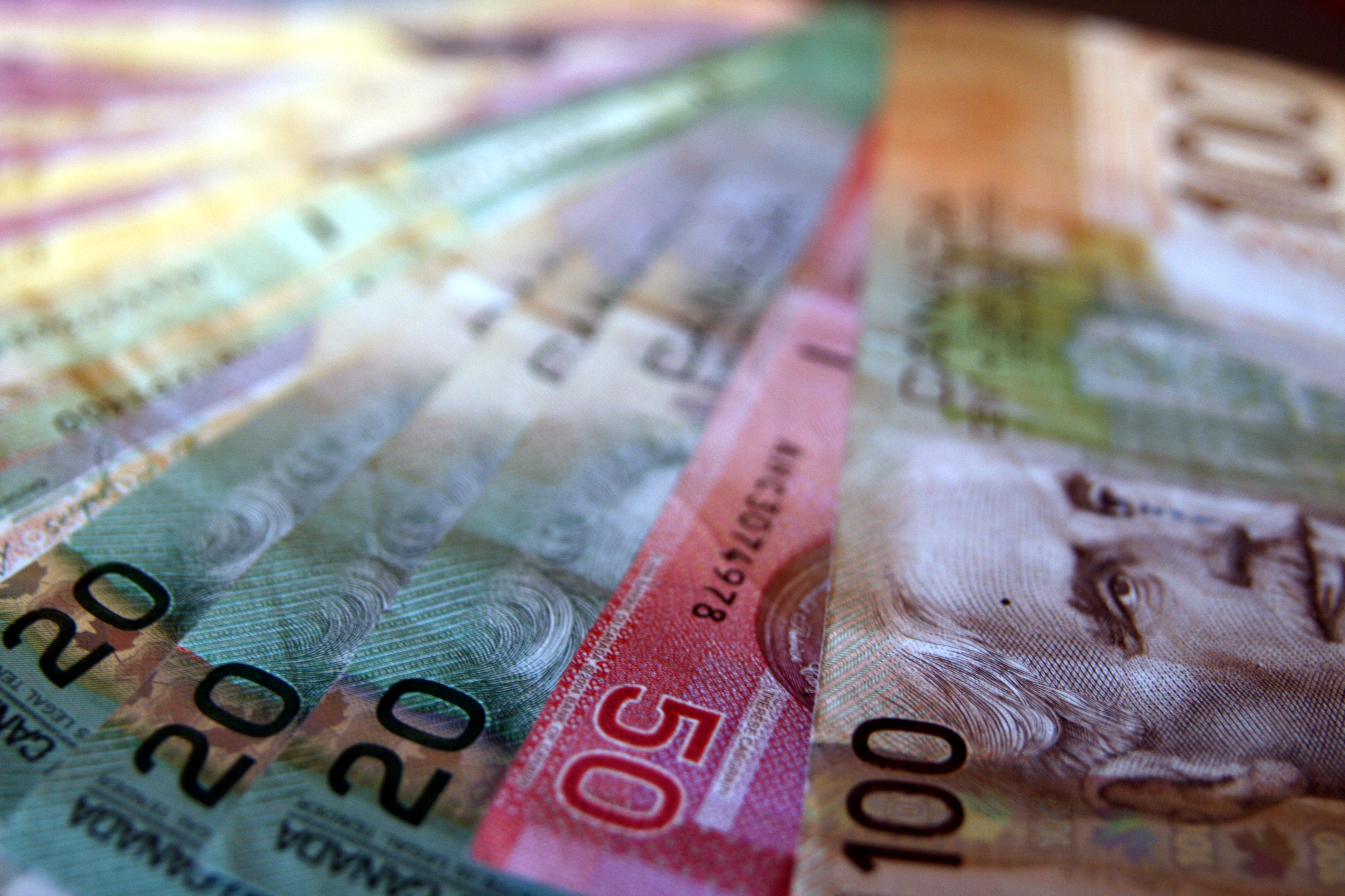 Photo by Duckie Monster - Canadian Money Creative Commons Attribution 2.0 Generic (CC by 2.0)