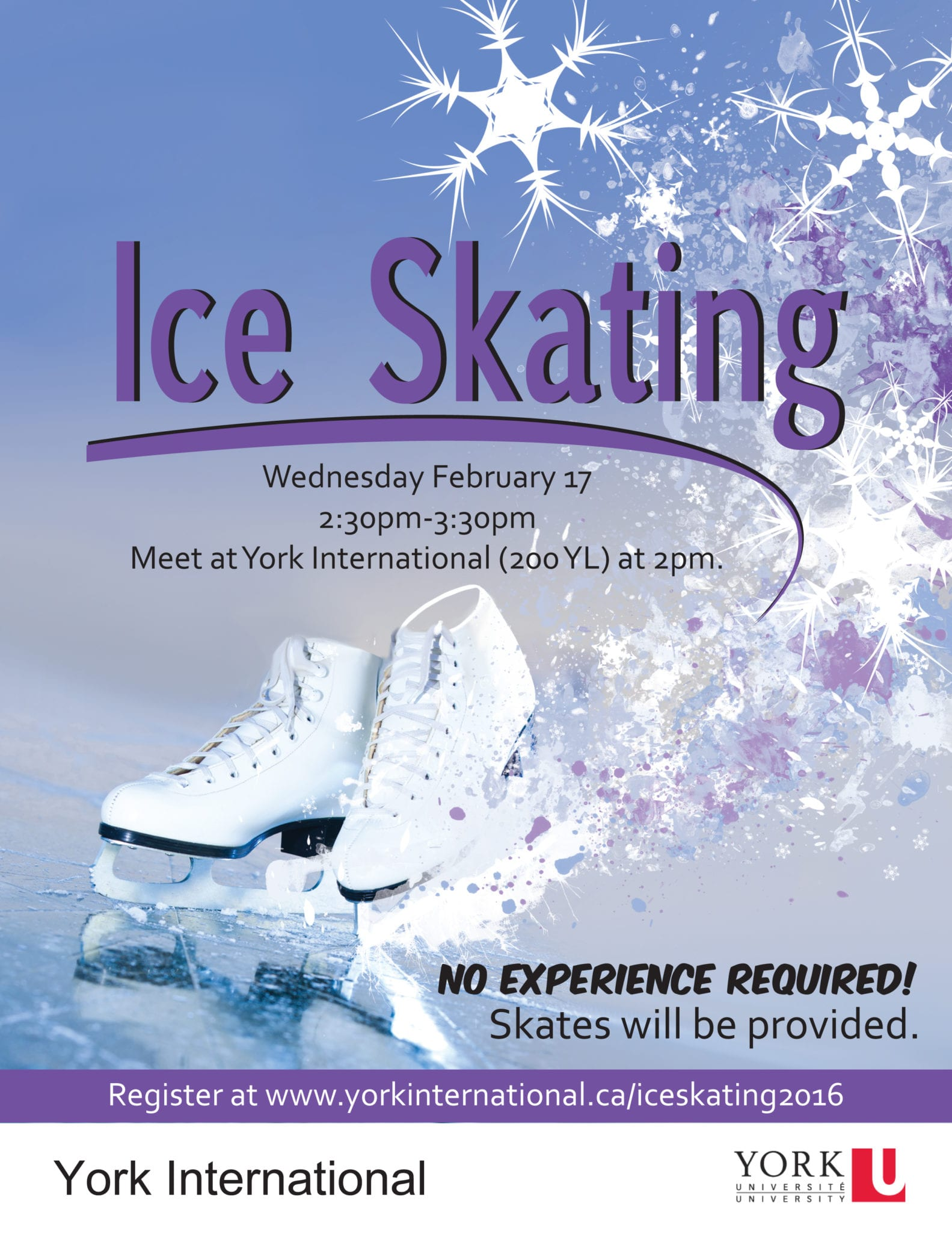 Ice Skating @ Meet at Global Cafe (244 York Lanes)