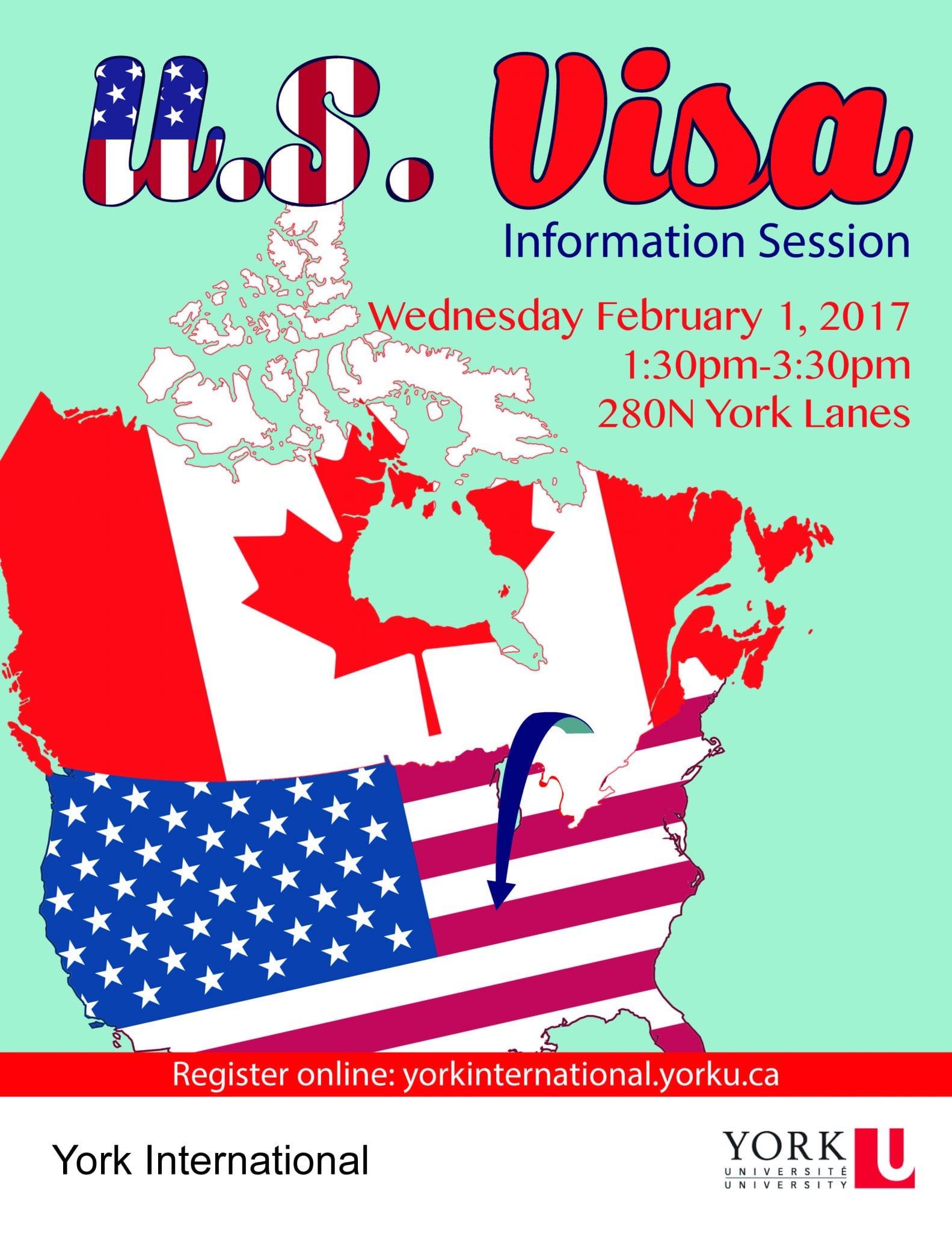 US Visa Information Session @ 280N York Lanes