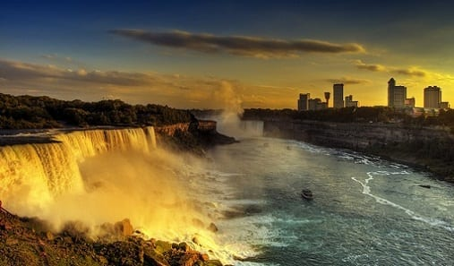 ISX Niagara Falls at Night Trip