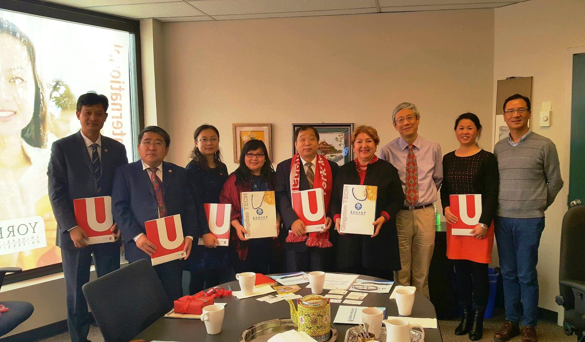 York International, Lassonde Faculty of Engineering and Qingdao University of Technology, China, Nov 2016