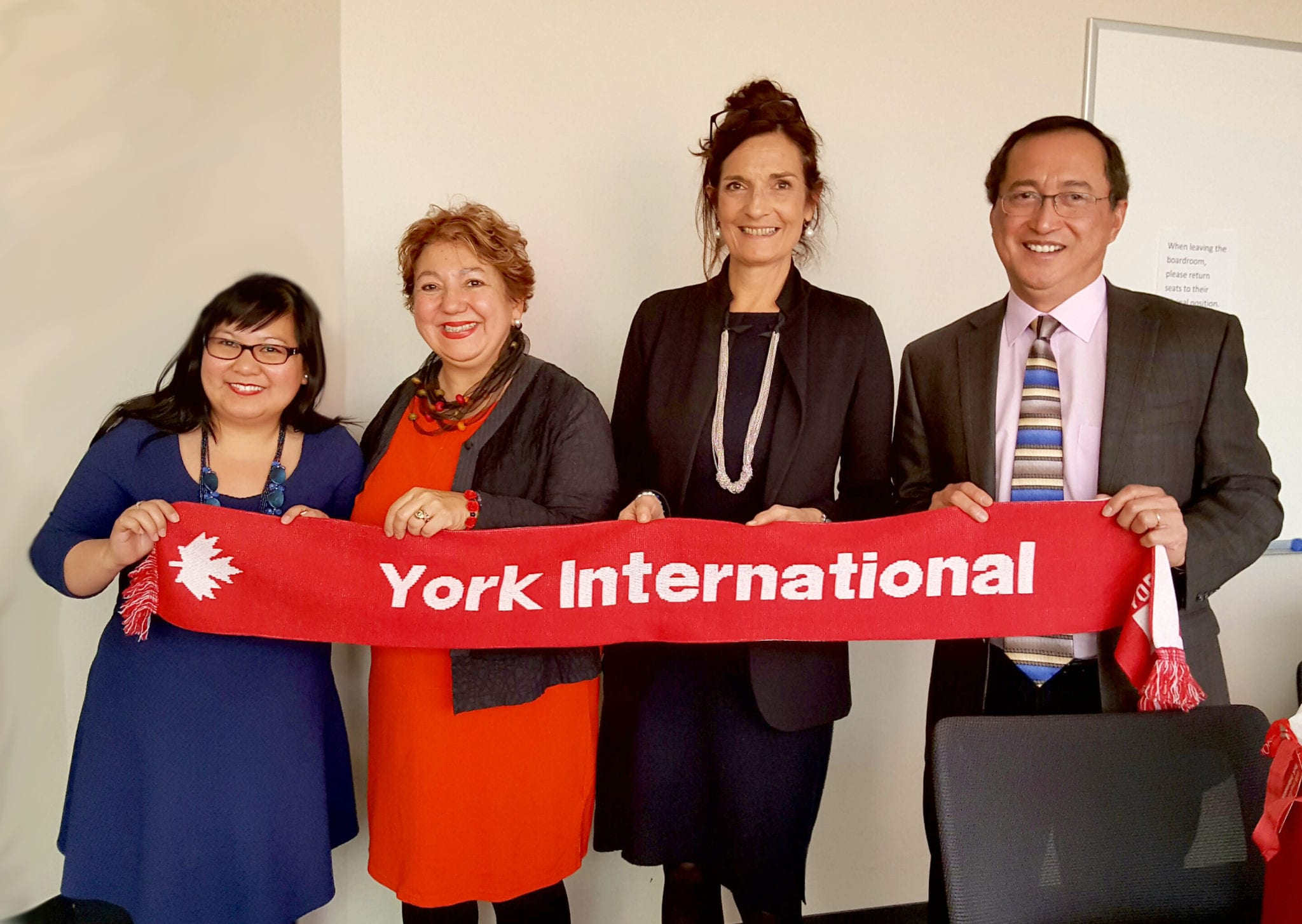 York International, School of Administrative Studies and ZHAW School Of Management and Law, Switzerland, Nov 2016