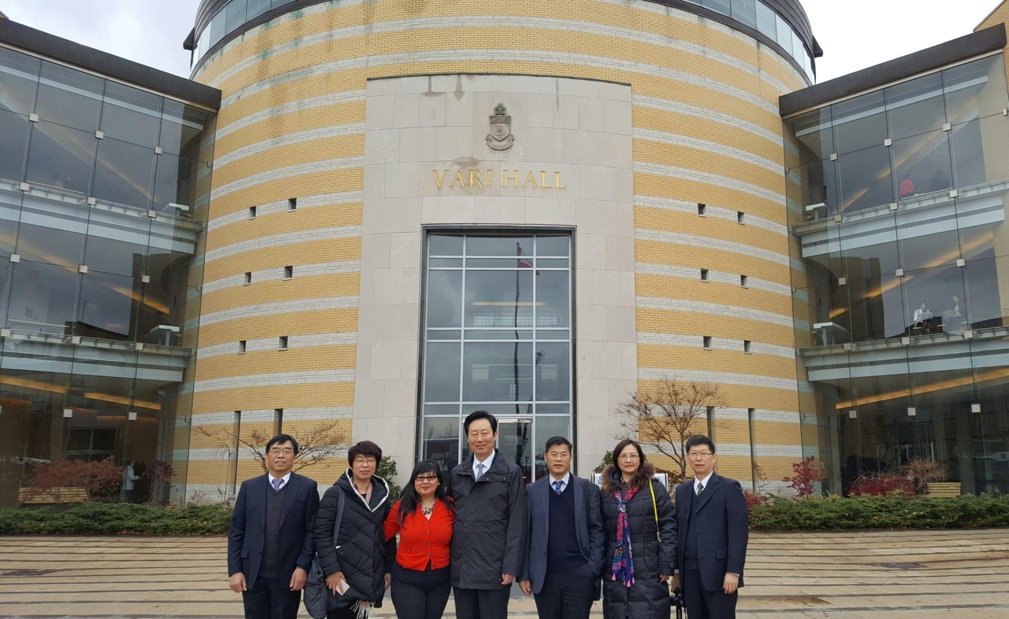 November 25, 2016 York International, Faculty of Liberal Arts and Professional Studies and Nantong University, China