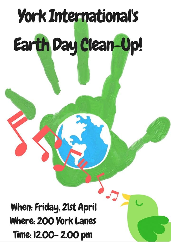 Earth Day Campus Cleanup
