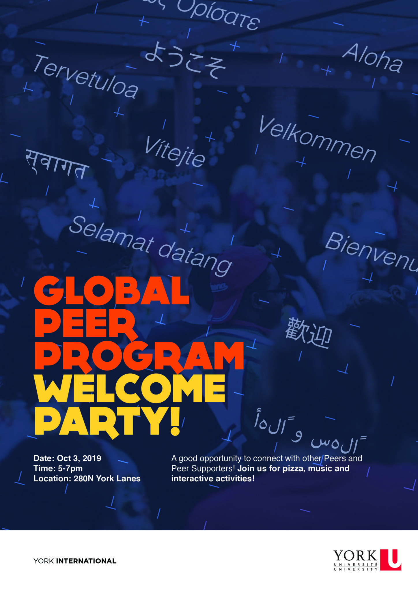 Global Peer Program Welcome Party @ 280N York Lanes | Toronto | Ontario | Canada