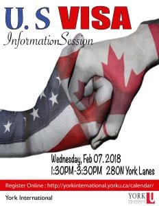 US Visa Information Session @ 280N York Lanes