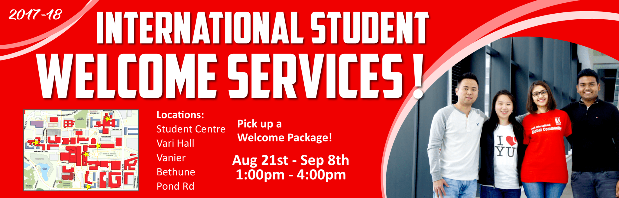 Welcome Services for New International Students