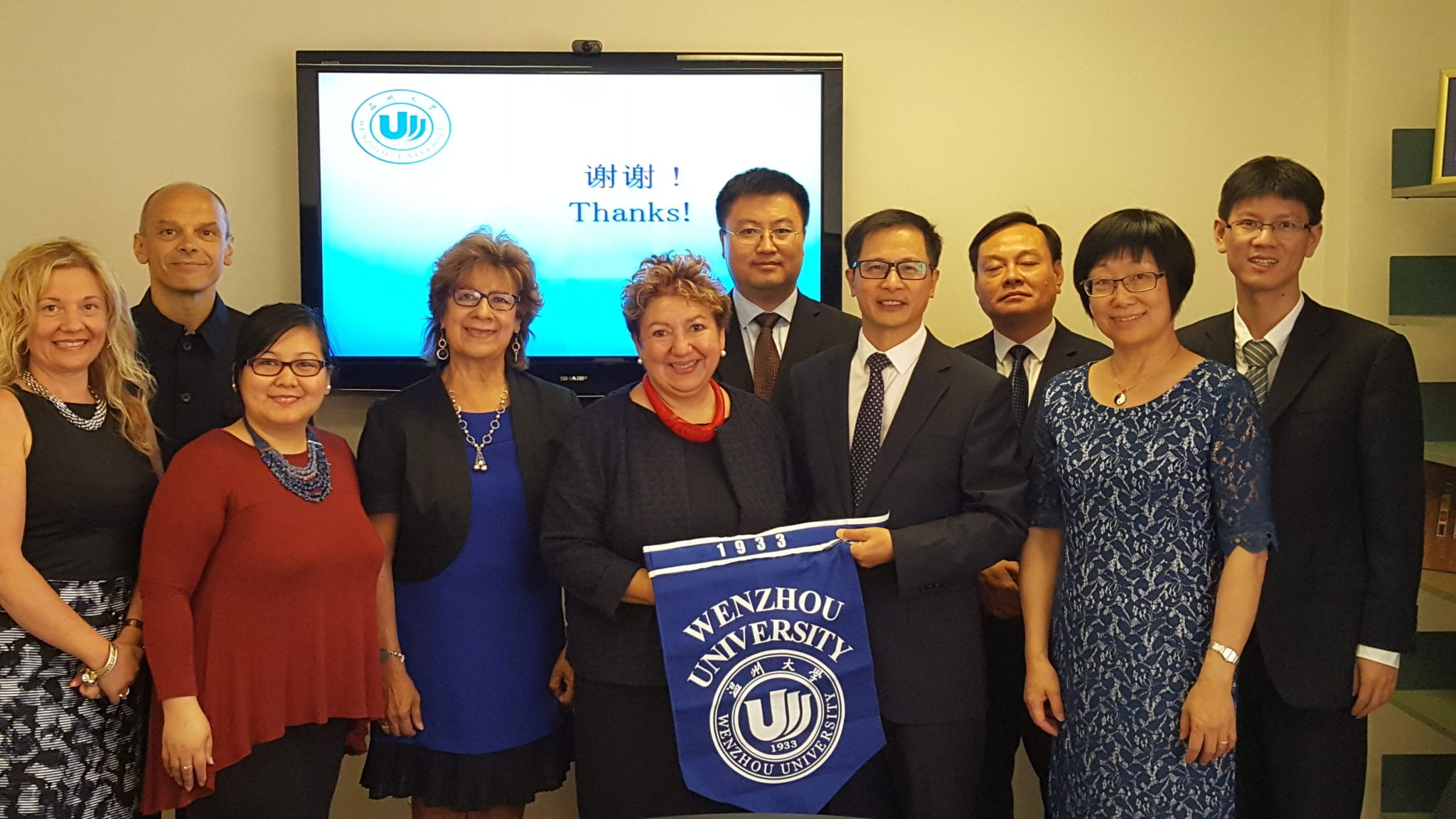 Wenzhou University, LA&PS and York International, July 2017