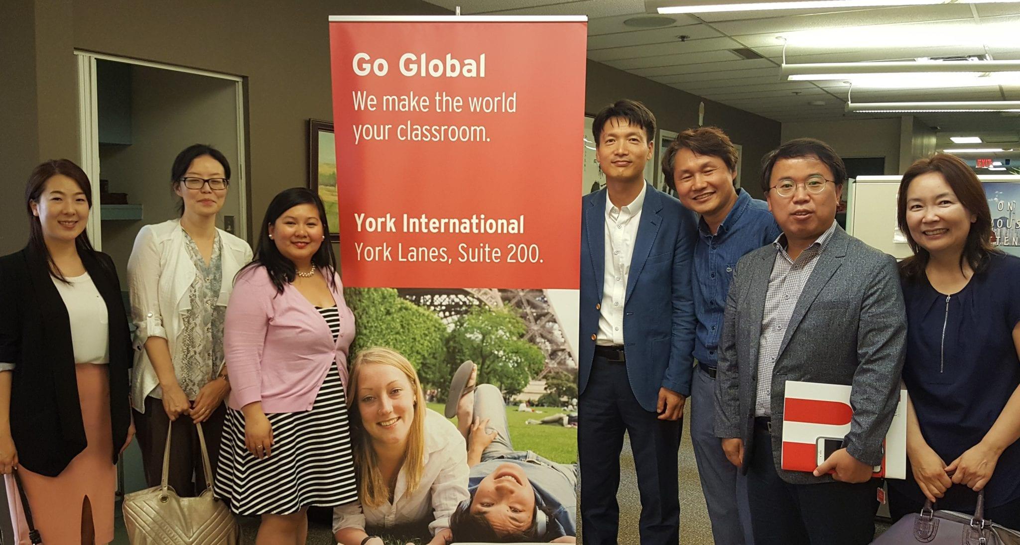 Seoul National University of Education and Consulate of South Korea, Toronto
