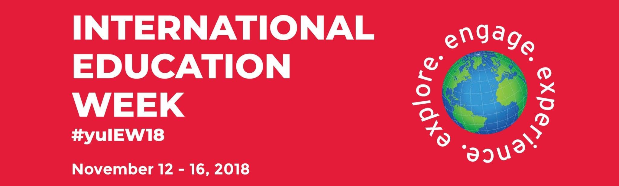 2018 International Education Week