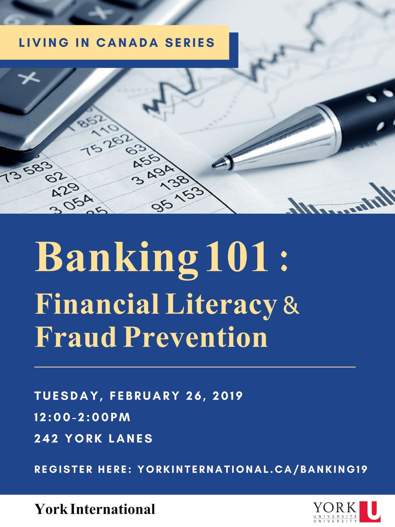 Banking 101: Fraud Prevention & Financial Literacy @ 242 York Lanes