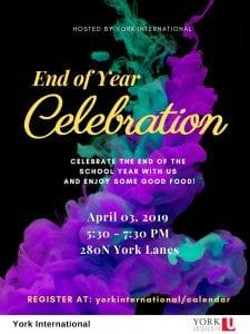 Global Peer Program End of Year Celebration @ 280N York Lanes