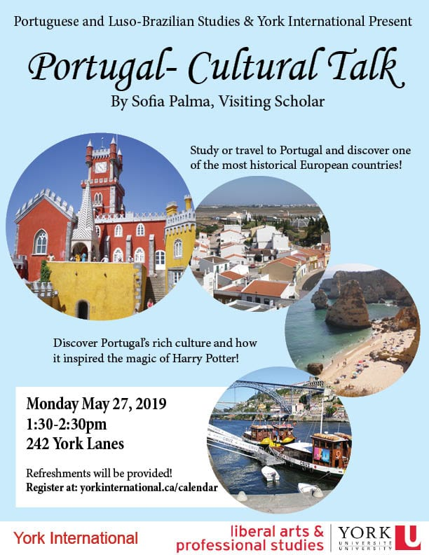Portugal Cultural Talk @ 242 York Lanes