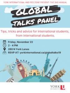 Global Talks @ 280N York Lanes