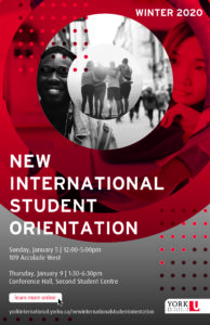 New International Student Orientation @ Accolade West 109 | Toronto | Ontario | Canada