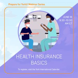 Prepare for YorkU: Health Insurance Basics