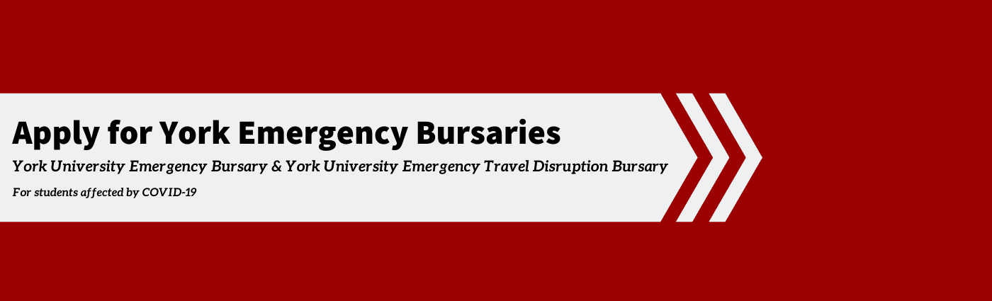 Emergency Bursaries