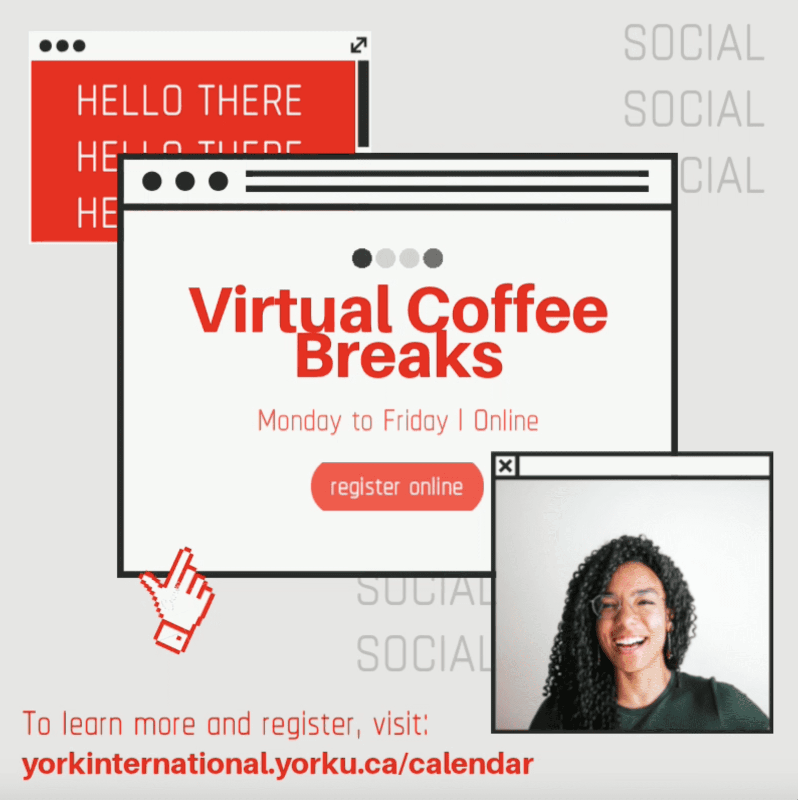 Virtual Coffee Break: Workout Wednesday @ Zoom