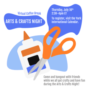 Virtual Coffee Break: Arts & Crafts Night @ Zoom