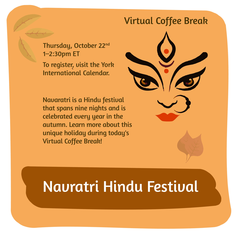 Virtual Coffee Break - Navratri-Hindu Festival @ Zoom