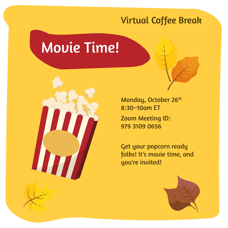 Virtual Coffee Break - Movie Time @ Zoom