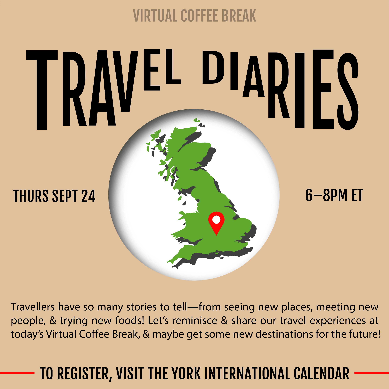 Virtual Coffee Break - Travel Diaries @ Zoom