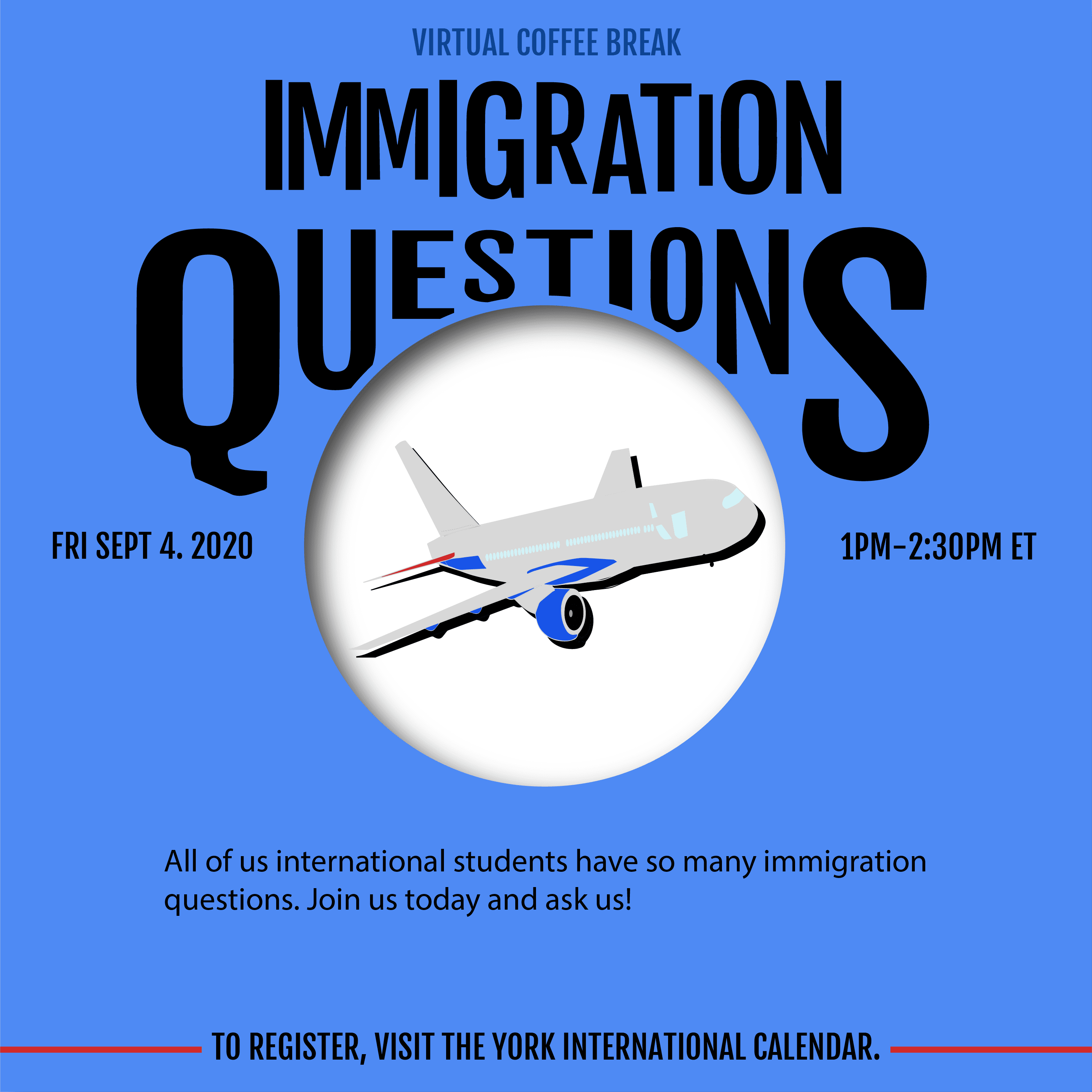 Virtual Coffee Break - Immigration Questions @ Zoom