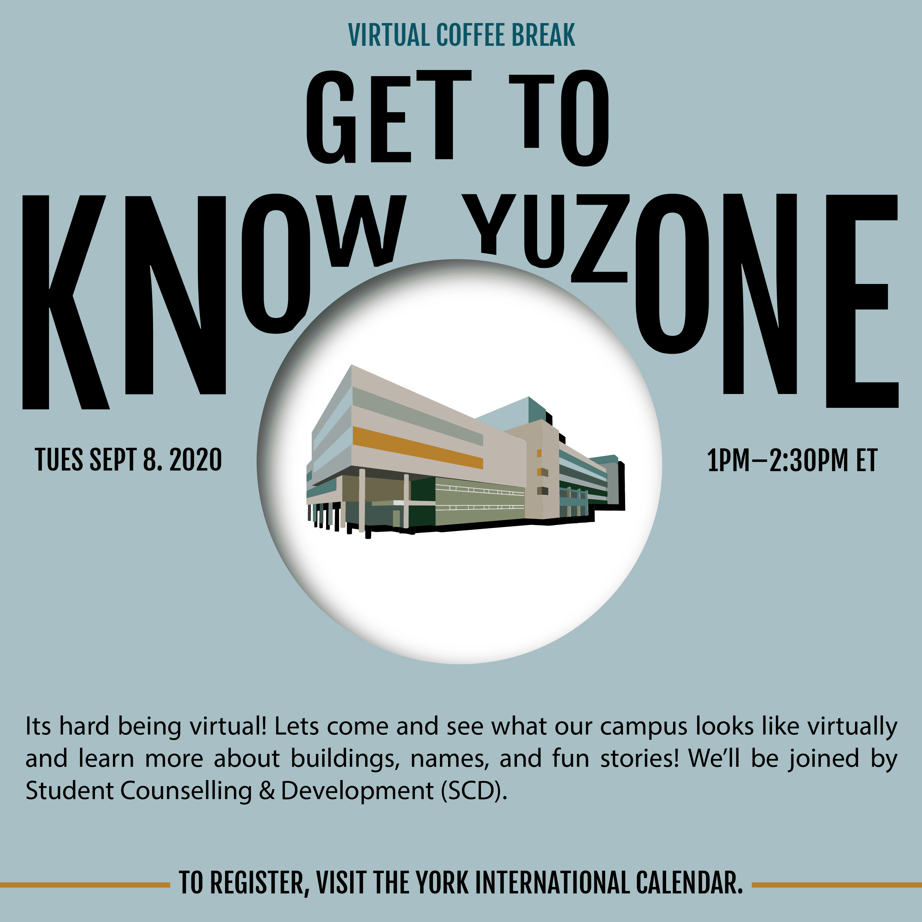 Virtual Coffee Break - Get to know YUZone @ Zoom
