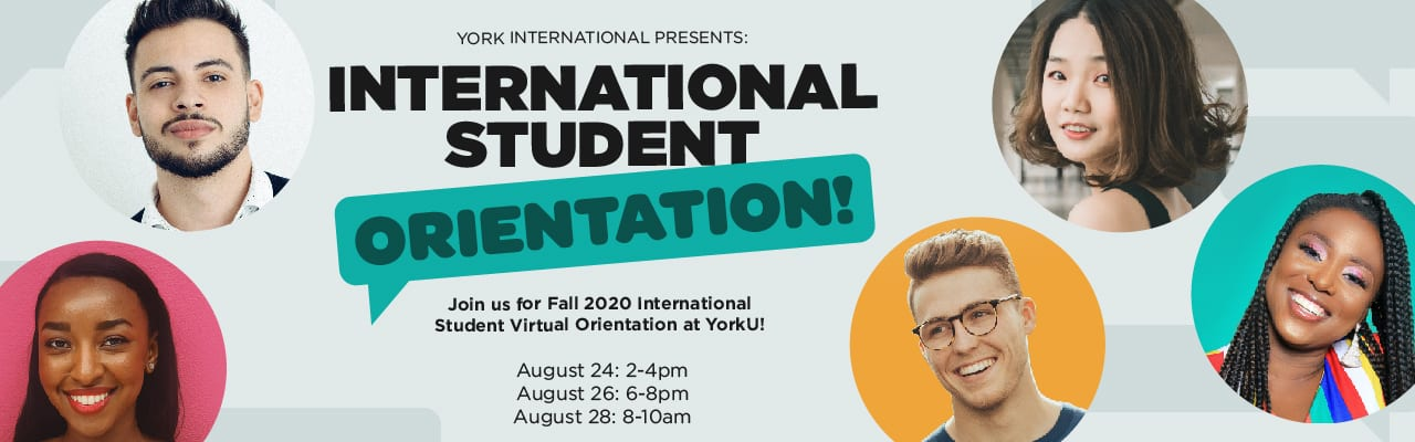 Fall 2020 International Student Virtual Orientation @ Virtual