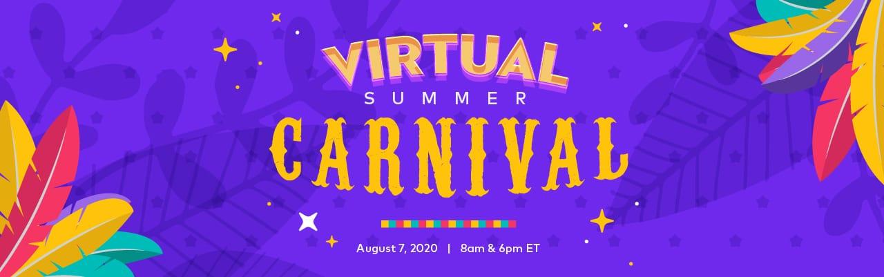 Virtual Summer Carnival! @ Zoom