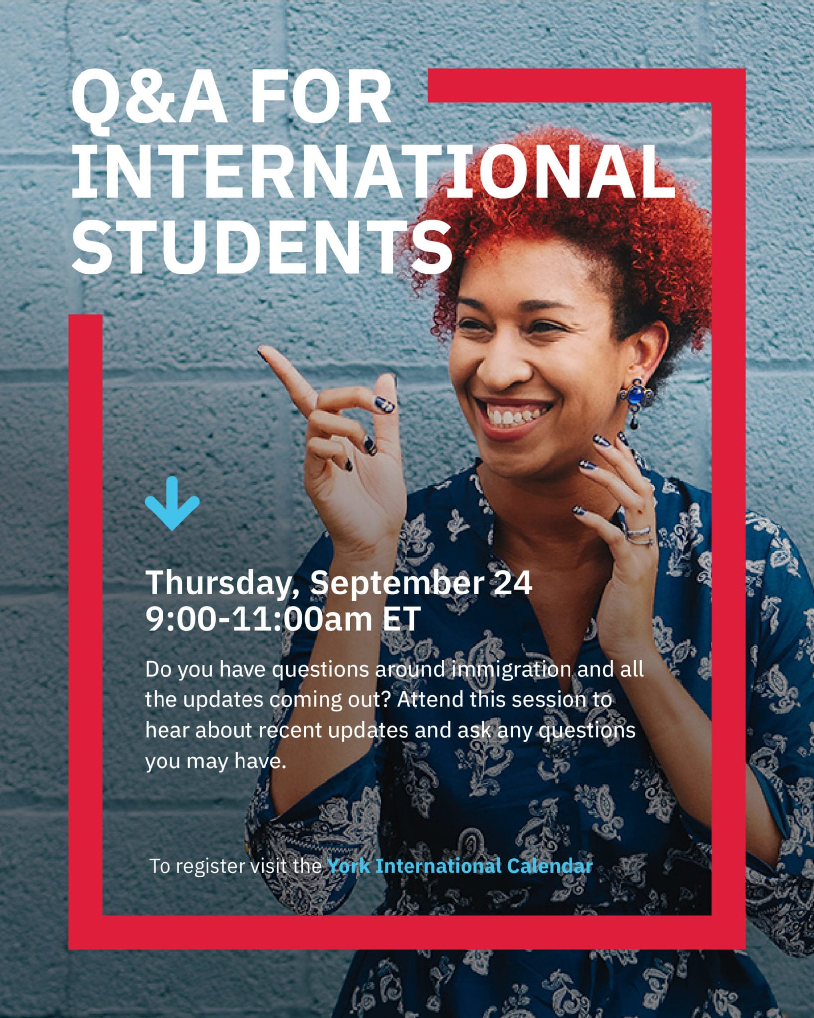 Q&A for International Students