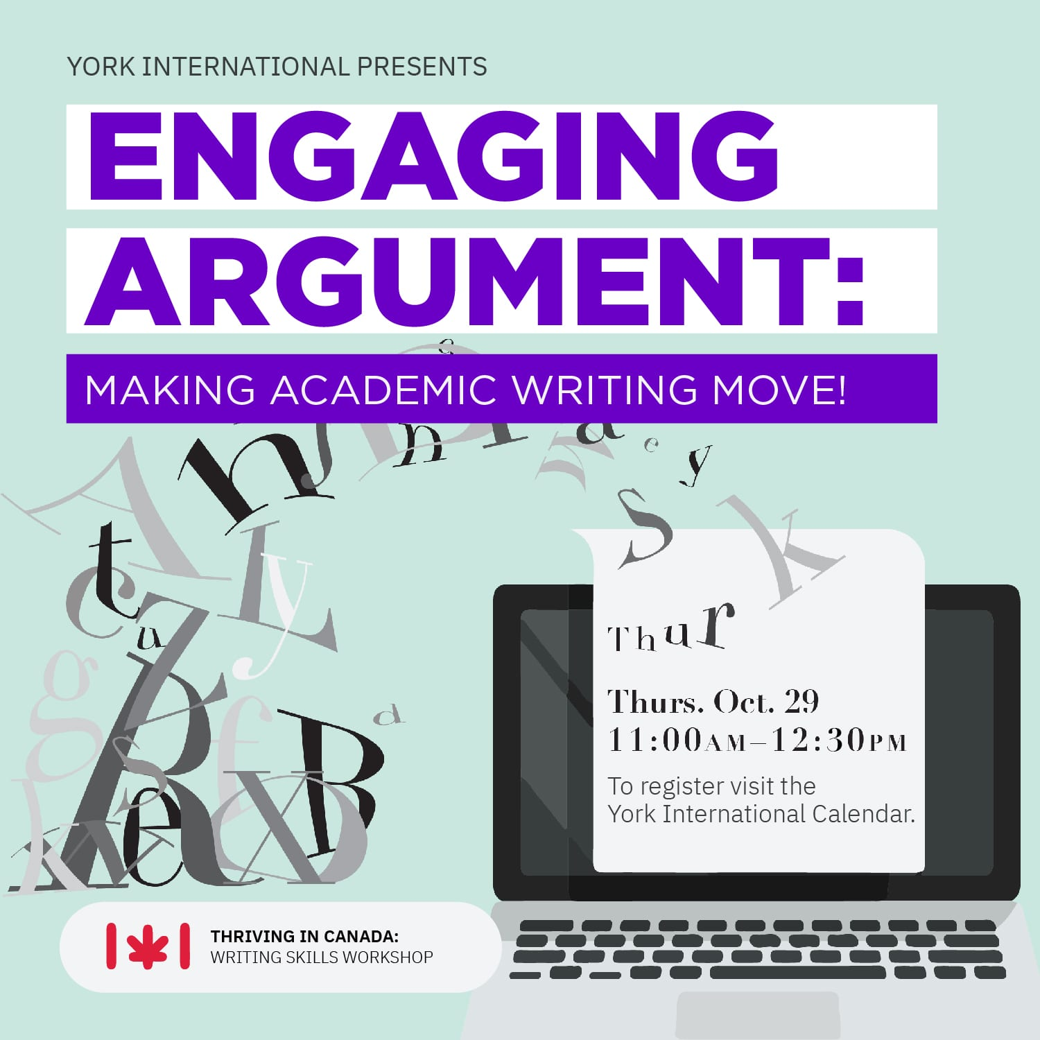 Engaging Argument: Making Academic Writing Move!