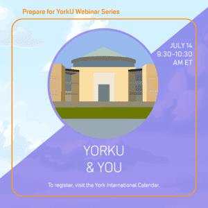 Prepare for YorkU: YorkU and You @ Virtual