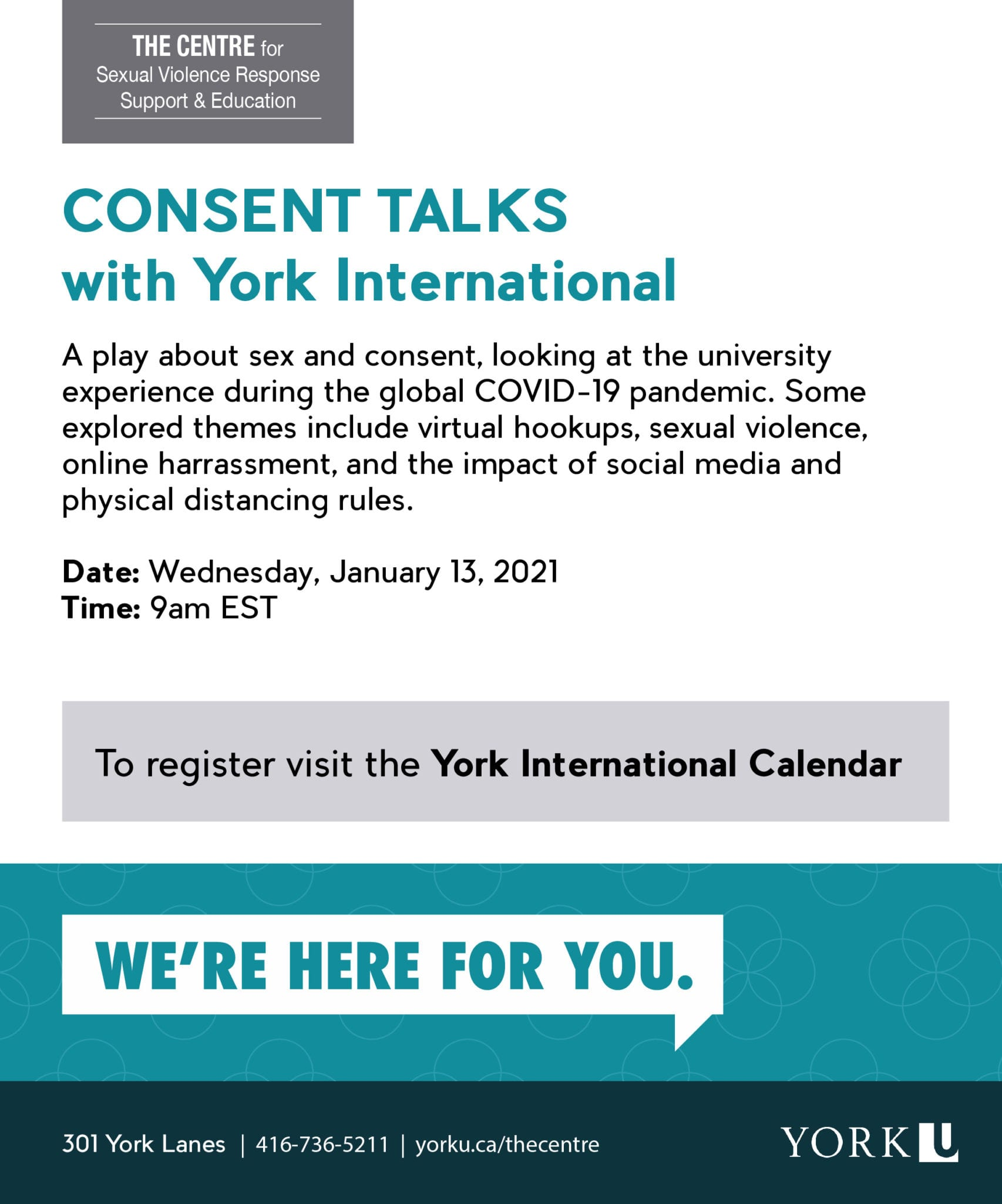 Consent Talks with York International