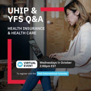 UHIP & YFS Q&A @ Zoom