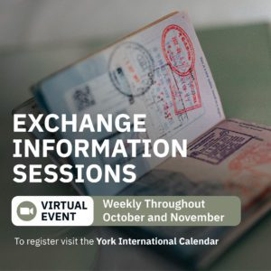 Exchange Information Session @ Zoom
