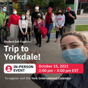 Trip to Yorkdale @ Location available upon registration