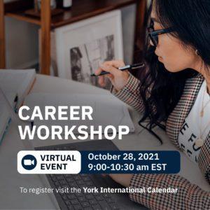 YI Career Skills Workshops: Self-Discovery & Career Exploration @ Zoom